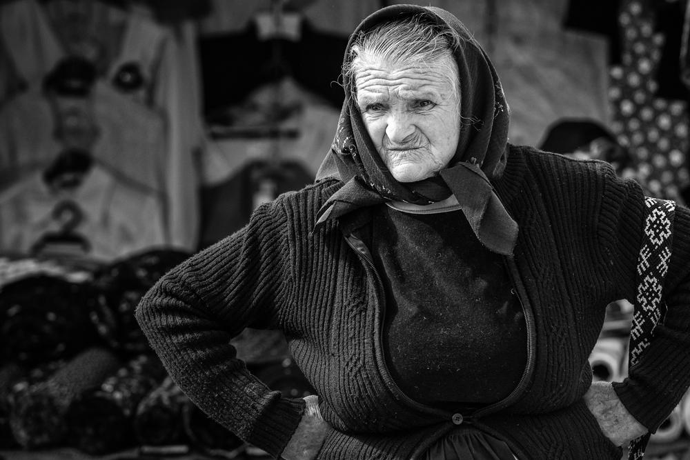 Portret markt in Roemenië