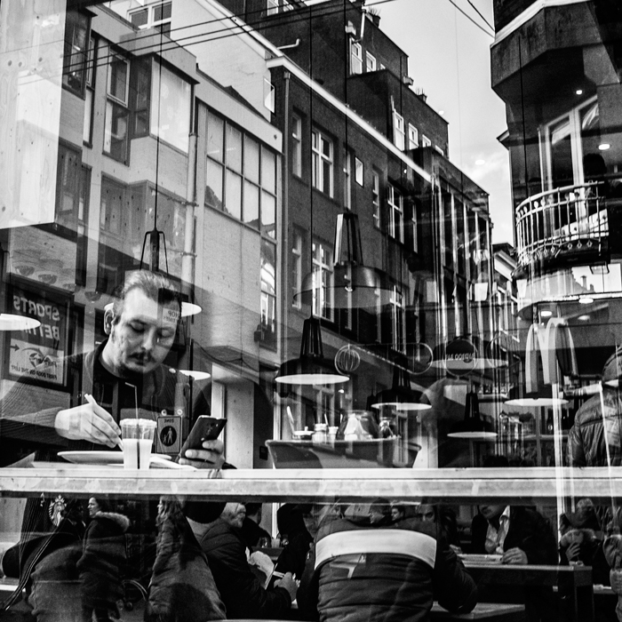 straatfoto Amsterdam