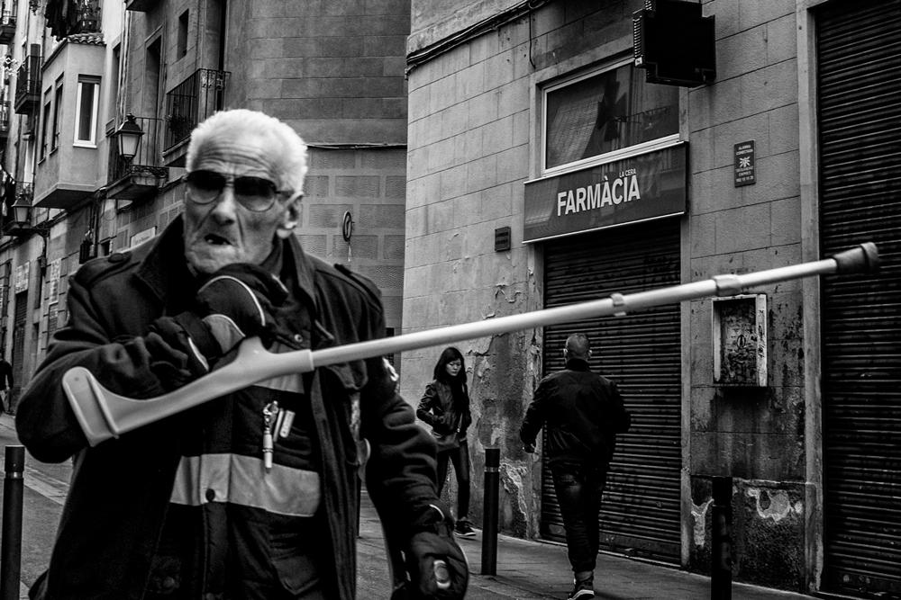 straatfoto Barcelona